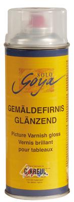 Malen-nach-Zahlen-Zubehör Malen nach Zahlen - Firnis glänzend Spraydose 400 ml