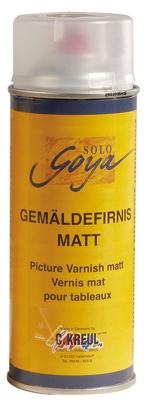 Malen-nach-Zahlen-Zubehör Malen nach Zahlen - Firnis matt Spraydose 400 ml