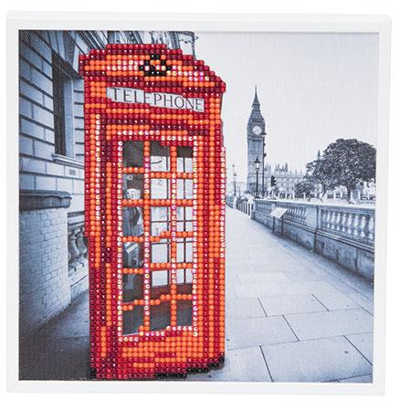 Malen nach Zahlen Bild Londoner Telefonzelle - CAK-2020A von Sonstiger Hersteller