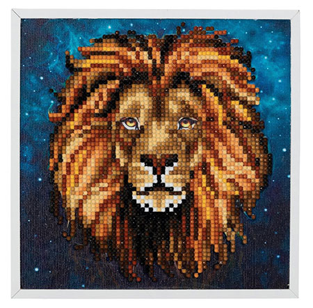 Löwen-Porträt