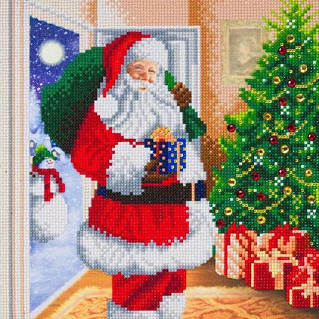 Malen nach Zahlen Bild Der Weihnachtsmann ist da! - CAK-A107M von Craft Buddy