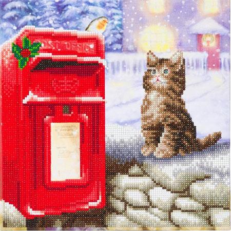 Malen nach Zahlen Bild Postkatze  - CAK-A108M von Craft Buddy