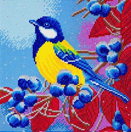 Malen nach Zahlen Bild Weihnachtsvogel - CAK-A109M von Craft Buddy