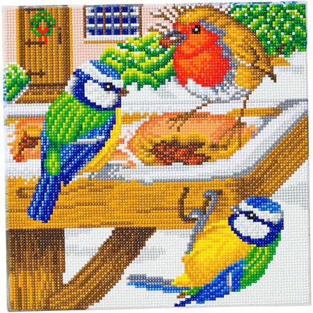 Malen nach Zahlen Bild Hungrige Vögel - CAK-A120M von Craft Buddy
