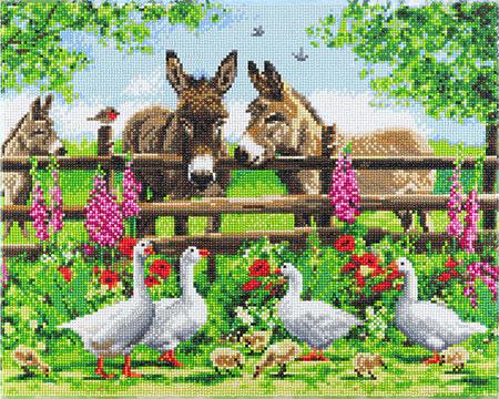 Bauernhof Familie
