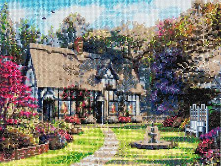 Malen nach Zahlen Bild Cottage-Zauber - CAK-A29 von Craft Buddy