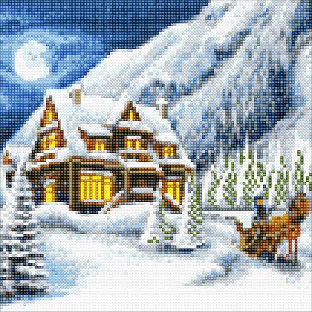 Malen nach Zahlen Bild Weihnachten im Wald - CAK-A36 von Craft Buddy