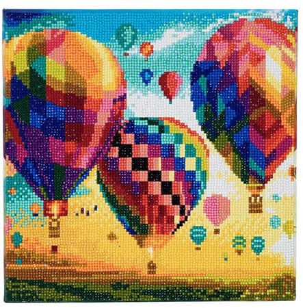 Malen nach Zahlen Bild Heißluftballons - CAK-A46 von Craft Buddy