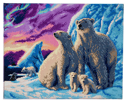 Polarbären-Familie