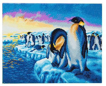 Arktische Pinguine