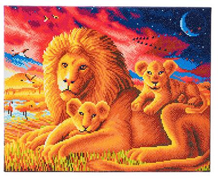 Malen nach Zahlen Bild Löwenfamilie - CAK-A61 von Craft Buddy