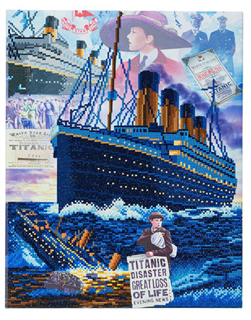 Malen nach Zahlen Bild Titanic - Der gesunkene Traum - CAK-A69 von Sonstiger Hersteller