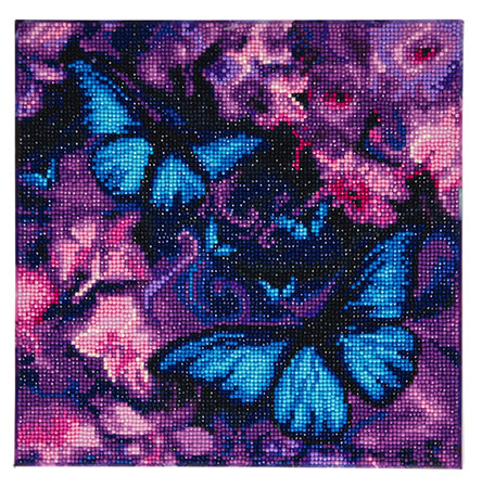 Malen nach Zahlen Bild Blaue Schmetterlinge - CAK-AM1 von Sonstiger Hersteller