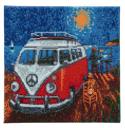 Camper Bus am Strand