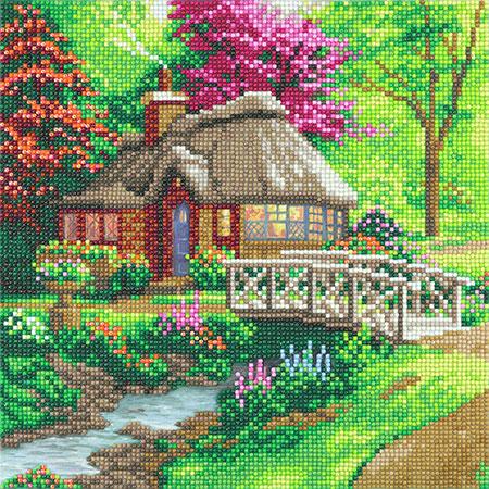 Malen nach Zahlen Bild Einsames Cottage - CAK-TK2M von Craft Buddy