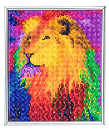 Löwe im Regenbogen