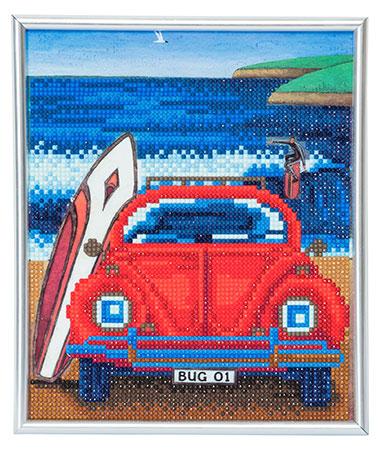 Malen nach Zahlen Bild Käfer am Strand - CAM-18 von Sonstiger Hersteller