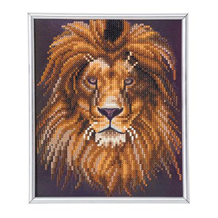Malen nach Zahlen Bild Löwenporträt - CAM-23 von Craft Buddy