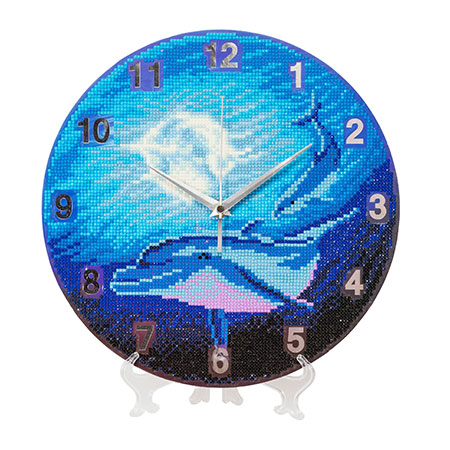 Uhr - Mondspiegelung