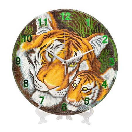 Malen nach Zahlen Bild Tigermutter mit ihrem Jungen - CLK-S3 von Sonstiger Hersteller