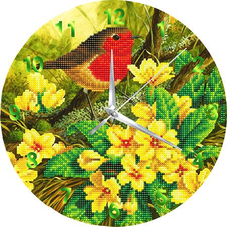 Malen nach Zahlen Bild Uhr - Vogel - CLK-S8 von Sonstiger Hersteller