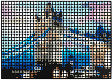 Malen nach Zahlen Bild DOT ON ART - Tower Bridge - bridges-towerbridge-XL von Dot On