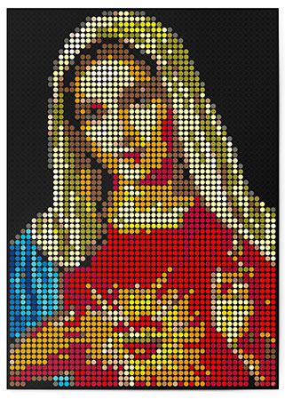 DOT ON ART - Heilige Maria