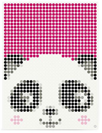 Malen nach Zahlen Bild DOT ON ART - Panda - kids-panda-L von Sonstiger Hersteller