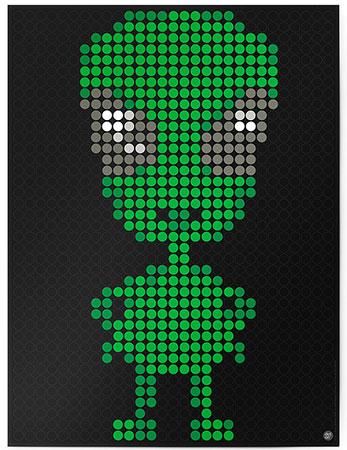 DOT ON ART - Alien