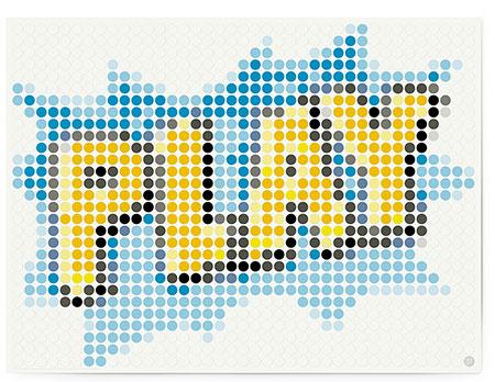 """DOT ON ART - Schriftzug """"PLAY"""""""