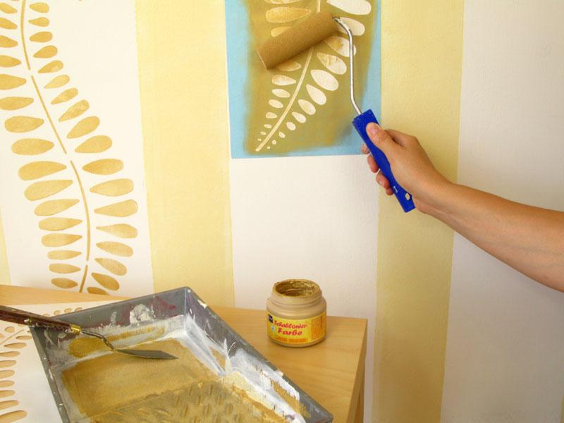 Wandgestaltung kinderzimmer streifen: küche wandgestaltung selber ...