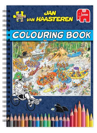 Malen nach Zahlen Bild Jan van Haasteren - Malbuch Edition 1 - 19026 von Sonstiger Hersteller
