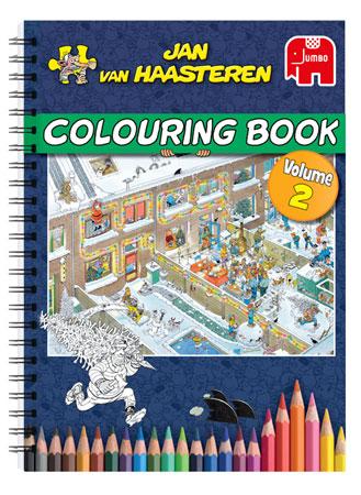 Malen nach Zahlen Bild Jan van Haasteren - Malbuch Edition 2 - 19041 von Sonstiger Hersteller