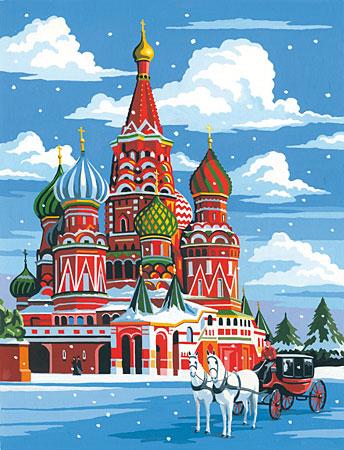 Malen nach Zahlen Bild Moskau - 105072 von Mammut