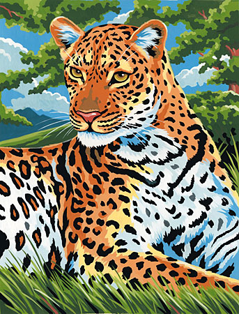 Malen nach Zahlen Bild Leopard - 105075 von Mammut