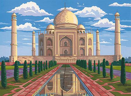 Malen nach Zahlen Bild Taj Mahal - 109103 von Mammut
