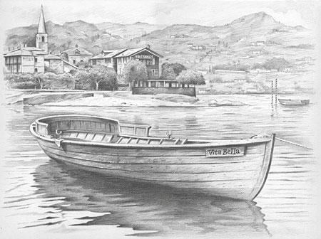 Malen nach Zahlen Bild Boot - 117007 von Sonstiger Hersteller