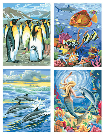 Malen nach Zahlen Bild Meeresrauschen - 8211546 von Mammut