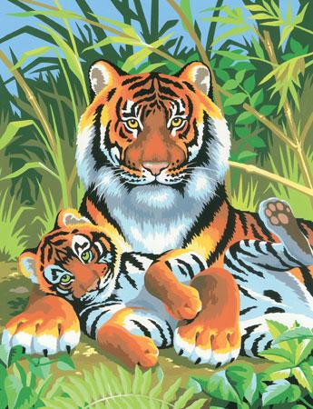 Malen nach Zahlen Bild Tiger - 8220029 von Mammut
