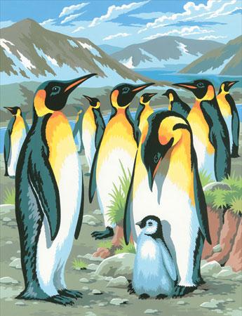 Malen nach Zahlen Bild Pinguine - 8220033 von Mammut