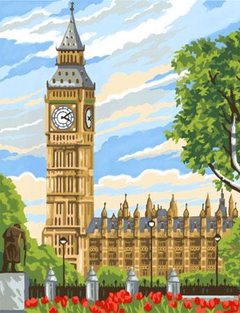Malen nach Zahlen Bild Big Ben - 8221331 von Mammut