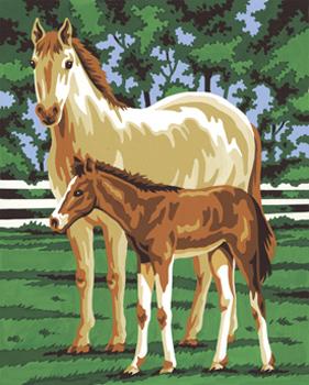 Malen nach Zahlen Bild Pferde - 110016 von Mammut