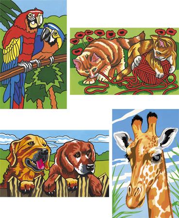 Malen nach Zahlen Bild Tiere - 114003 von Mammut