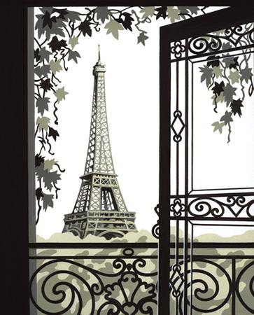 Malen nach Zahlen Bild Paris Eiffelturm - 120001 von Mammut