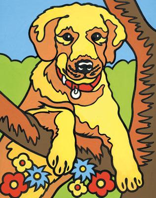 Malen nach Zahlen Bild Hund - 103003 von Mammut
