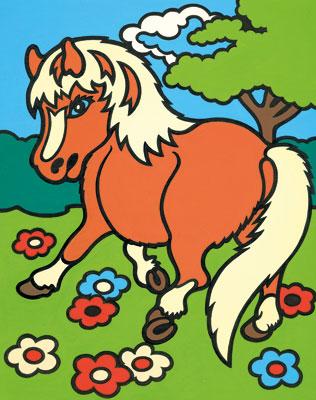 Malen nach Zahlen Bild Pferd - 103004 von Mammut