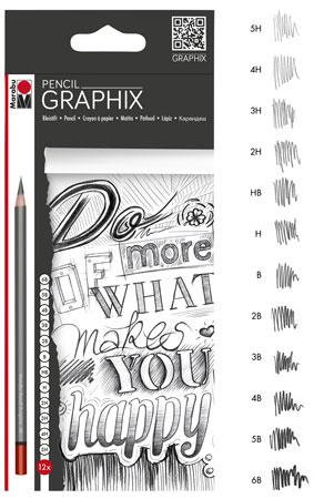 Malen-nach-Zahlen-Zubehör Bleistift-Set