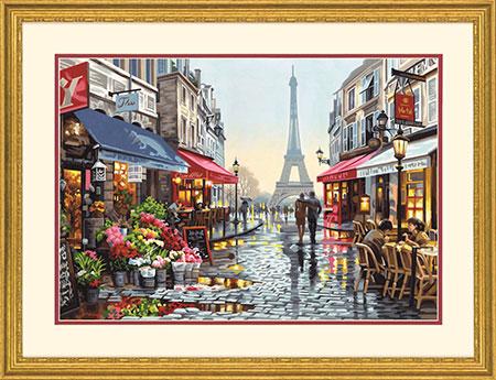 Malen nach Zahlen Bild Blumenladen Paris - 73-91651 von Sonstiger Hersteller