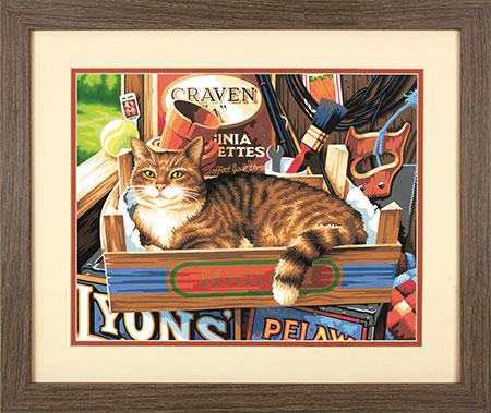 Malen nach Zahlen Bild Katzenutensilien - 73-91655 von Paintworks