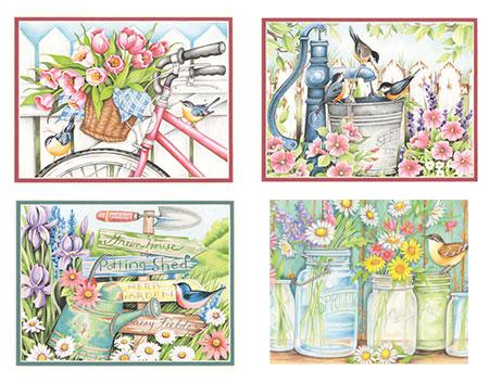 Malen nach Zahlen Bild Gartenvielfalt - 73-91659 von Sonstiger Hersteller